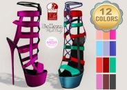 NOIR - Valentina Heels